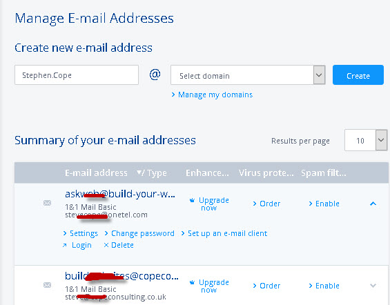 How To Set Up Email Accounts And Addresses On 1and1