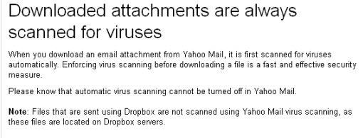 Yahoo-attachments-virus-scan