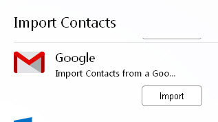 iimport-contacts-from-gmail