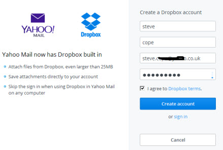 create-dopbox-account