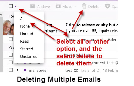 Deleting-Multiple-Emails