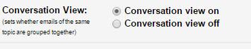 Google-converstations-settings