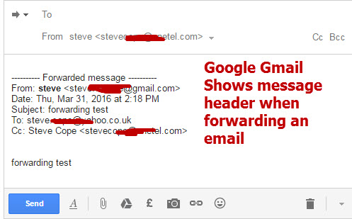 Google-email-forwarding