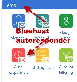 bluehost-autoresponder-1
