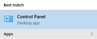 control-panel-windows10