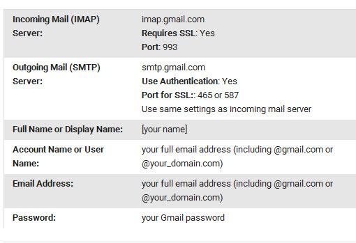 gmail-mail-settings