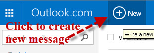 outlook.com-create-new-message