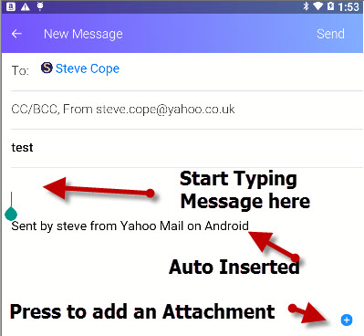 yahoo-android-send-message